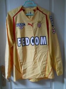 Maillot de football Puma AS Monaco LFP 2002 Veigneau N°31 taille M très bon état