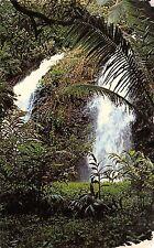 BR43202 Double water falls at Faaone  Tahiti