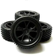 hs211057wfr 1/10 ECHELLE RC BUGGY HORS ROUTE ROUE ROULEMENT pneu noir plastique