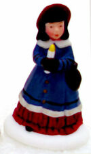 Dept. 56 A Peaceful Glow on Christmas Girl w. Candle Only Dickens 58300