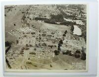 "Original 1950 National Jamboree 8x10"" Aerial Photo Valley Forge, VA BSA"
