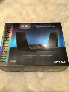 NETGEAR RAX80 Nighthawk AX6000 WiFi Router