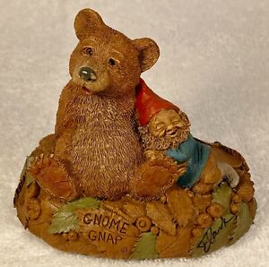 GNOME GNAP-R 1996~T.Clark/T.Wolfe Gnome~Item #6343~Ed #37~Hand Signed~COA~Story