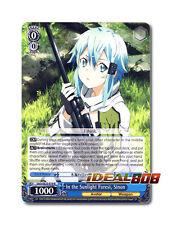 Weiss Schwarz Sword Art Online x 1 In the Sunlight Forest, Sinon [SAO/SE23-E19 R