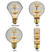 E27 Edison 3W Vintage Retro Lampe Glühlampe Filament Glühbirne Birne