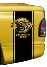 2* DODGE RAM 1500 RUMBLE BEE SET Sticker Decals Vinyl Printed Self Adhesive/_933a