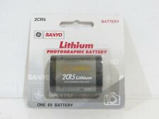 Sanyo 2CR5 Lithium Photographic Battery 6V
