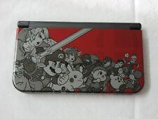 D382 Nintendo new 3DS LL XL console Red/Black Super Smash Bros model Japan x