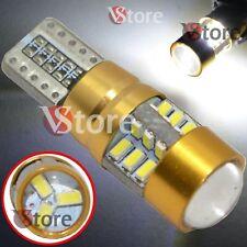2 Lampadine Auto T10 W5W 27 LED HID Canbus No Errore Luce Posizione Bianca