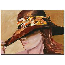 NOVAARTE Abstrakte Malerei Kunst Acryl Bild Gemälde Modern ORIGINAL Frau UNIKAT
