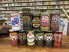 11 Different Schell's New Ulm Minnesota pull tab beer Cans