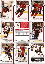 2011-12 Panini Score Glossy Ottawa Senators Complete Master Team Set (16)
