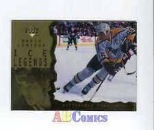 Mario Lemieux 1996-97 Upper Deck Ice Acetate Parallel  #114 carte NHL Penguins