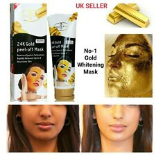 24kGold Peel-Off Clarifying Mask Strong Acne Treatment Scar Removal Blemish Spot