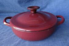Jamie Oliver At Home by Tefal Cast Iron Enamel 18cm 7in Casserole Dish, Pot