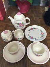 Vintage 1980s East German (DDR) Ceramic Tea Set