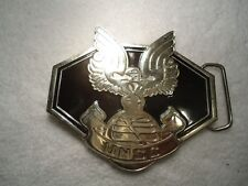 UNSC UNITED NATIONS SPACE COMMAND BELT BUCKLE Microsoft