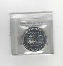 1974  Winnipeg Centennial  Coin Mart Graded Canadian Silver Dollar **SP-67 Cam*