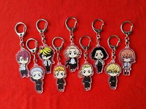 Tokyo Revengers Anime Acrylic Keychain - Tokyo Manji Gang Keyrings