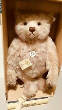 """COLLECTOR TEDDY BEAR ROSE LARGE 18"""" LIMITED EDITION STEIFF MOHAIR BEAUTIFUL"""
