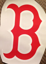 """13""""x9.5""""  Red Sox FATHEAD Alternate Official """"B"""" Logo official MLB Wall Graphics"""