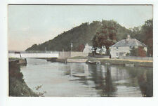 Caledonian Canal Bridge Keeper's Cottage And Tomnahurich Hill Inverness Pre 1918
