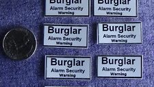 burglary security home house car alarm window vinyl decal sticker