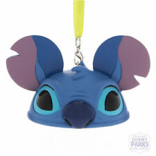 DISNEY PARKS STITCH EAR HAT CHRISTMAS ORNAMENT DECORATION, LILO & STITCH, BNIB