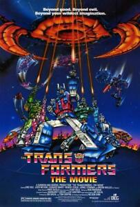 Transformers: The Movie POSTER 27 x 40  Orson Welles, Robert Stack, A