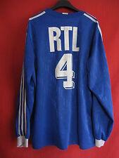 Maillot Coupe de France RTL Porté #4 Adidas vintage Adidas Rétro - XL