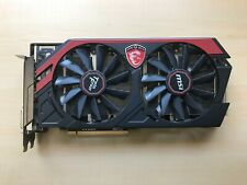 (Broken) MSI AMD Radeon R9 270X 2GB TWIN FROZR Graphics Card (see description)