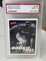 Ichiro Suzuki 2001 Upper Deck Victory #564 Rookie Card RC PSA 9 Mint 🇯🇵 read