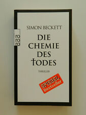 Simon Beckett Die Chemie des Todes Thriller rororo Taschenbuch
