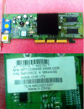 SP7100M4SE 64MB GEFORCE4 MX440SE VGA + S-VIDEO AGP 0dB