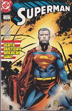 italian edition DC comics SUPERMAN TRADE PAPERBACK # 7 VERITA'GIUSTIZIA & AMERIC