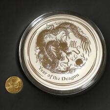 2012 $30 Silver 1 Kilo Australia Year of the Dragon Lunar Coin One Kilogram MINT