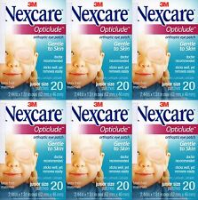 3M Nexcare Opticlude Eye Patch Orthoptic Junior Size 6 Boxes 120 Pcs Expire 2021