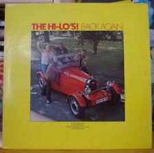 THE HI-LO'S BACK AGAIN CAR COVER HOLLAND PRESS LP 1979