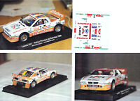 Decals 1/43e Lancia Rallye 037 Ev 2 B.Cardin El Gateiro Asturies 1986