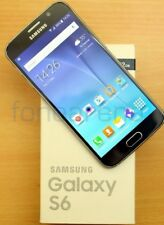New In Box SAMSUNG Galaxy S6 SM-G920T  32GB  Black Sapphire T-Mobile Smartphone