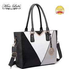 Ladies Designer PU Leather Handbag V-shape Shoulder Top Handle Tote Work Bag 51641c4239