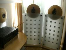 IKEA-PAMPUSSCHALEN JVC-LS u. VISATON-ULTRAHOCHTÖNER mit Glasständer