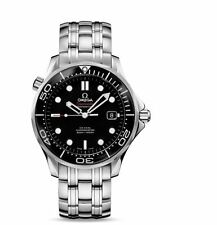 Omega Seamaster 21230412001003 Automatic Black Dial Stainless Steel Men's Watch