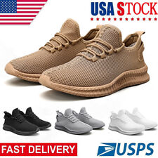 New listing Men's Lightweight Athletic Running Tennis Shoes Casual Sports Sneakers Jogging