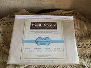 HOTEL GRAND Luxury Basic Bedding 100% Cabana Egyptian Cotton 400 TC SHEET SET!