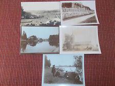 lot 5 photos très anciennes Seine et Marne 77 voir description au dos ( ref 41 )