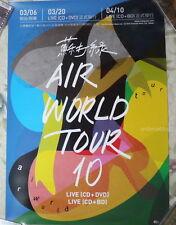 Sodagreen Air World Tour 10 Taiwan Promo Poster