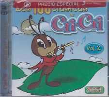 CD - Las 100 Clasicas De Cri Cri NEW Vol. 2 / 2 CD's FAST SHIPPING !