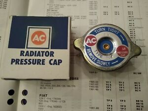 RADIATOR PRESSURE CAP - FITS: SAAB 95 & 96 - 841cc 2-STROKE (1960-66)