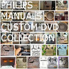 Philips Service Manuals 22-AH 22-RH -N- Collection HiFi Repair Reel to Reel  DVD
